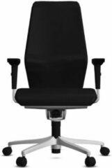 Bureaustoel Giroflex 64-9278 - Stof Zwart Gaja Classic GA60999 - Voetkruis Aluminium Metallic 0813 - 4D Armleggers NPR - Comfort Bekleding - Met Lendensteun