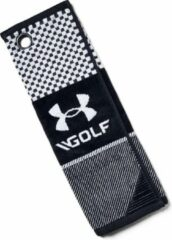 Witte Under Armour Golf Towel Black/White