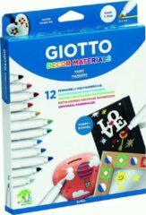 Giotto viltstift Decor 12 stiften