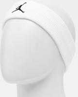 Witte NIKE Jordan Jumpman headband - White