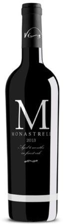 """Afbeelding van Vins del Combat """"M"""" Monastrell, 2017, Alicante, Spanje, Rode Wijn"""