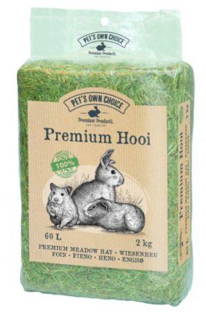 Afbeelding van Pets own choice Pet's Own Choice Premium Hooi - Ruwvoer - 2 kg