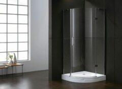 Lambini Designs Hamburg douchecabine kwartrond 100x100cm