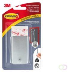 3M Command™ Schilderijhaak Metaal, 17048C, ophanging met draad, 1 haak + 6 Strips, 3,6kg