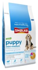 Smolke Puppy Mini-Medium Kip&Lam&Vis - Hondenvoer - 12 kg