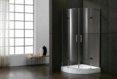Lambini Designs Berlijn douchecabine kwartrond 100x100cm