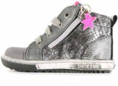 Shoesme zilvergrijze eerste loopschoen met details (EF8W024-C)....
