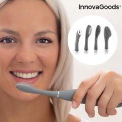 Grijze Siliconen Sonic Tandenborstel met Accessoires Klinfor InnovaGoods