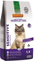 4x Biofood Kattenvoer Sensitive Graanvrij 1,5 kg
