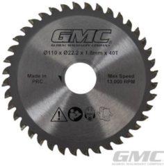 Yepp GTS1500 Hardmetaal gepunt cirkelzaagblad 110 x 22,2 x 40 t