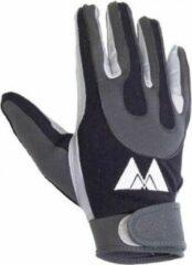 Zwarte MM Football Receiver Gloves - Black - Medium
