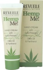 Revuele Hemp Me Hand Cream With Cold Pressed Hemp Oil