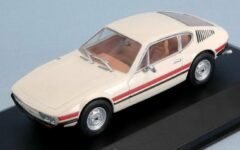 Beige White box Volkswagen SP2 1973 creme with striping 1:43