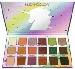 Paarse Kleancolor Stay Magical Eyeshadow Palette - ES2207