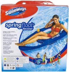 Lichtblauwe Kerlis Spring float zwembadstoel