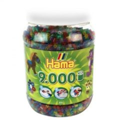 Strijkkralen Hama In Pot 9000 Stuks Glitter (2672544)