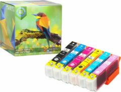 Cyane Ink Hero - 6 Pack - Inktcartridge / Alternatief voor de Epson Expression Photo 24XL T2431 T2432 T2433 T2434 T2435 T2436 XP-55 XP-750 XP-760 XP-850 XP-860 XP-950 XP-960 XP-55 XP-750 XP-760 XP-850 XP-860 XP-950 XP-960 Inks