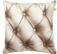 Goudkleurige Dutch decor kussenhoes larossa 45x45 cm goud