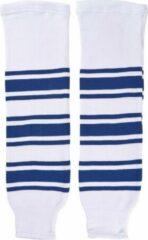 Sherwood IJshockey sokken Toronto Maple Leafs wit/blauw Bambini