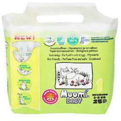 Muumi Baby Ecologische Luiers 1 Newborn Voordeelverpakking 6x25ST