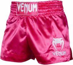 Venum Classic Muay Thai Kickboks Broekjes Dames Roze XS - Kids 7/8 Jaar | Jeans maat 26