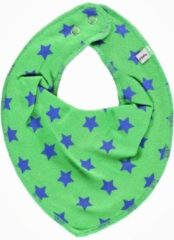 Pippi babywear - slabbetje - ster - 2-pack - groen