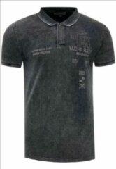 Rusty Neal Poloshirt - heren - zwart - 15212