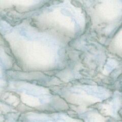 Gekkofix Plakfolie - Kleeffolie - Kleefplastiek - Plakplastiek - 45 cm x 300 cm - Marmer Grijs