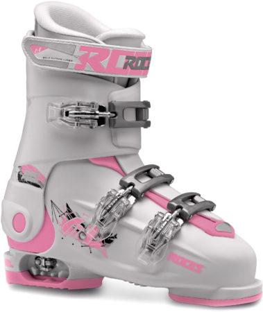 Afbeelding van Roces Ski schoenen - Maat 36-40--CONVERTMeisjesKinderen - wit/roze