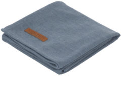 Blauwe Little Dutch Swaddle doek 120 x 120 - pure blue