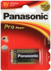 Goobay Batterie Alkali 9 Volt-Block<br>Panasonic - Pro Power (Gold Awar
