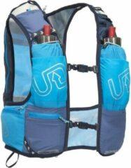 Ultimate Direction Mountain Vest 4.0 Racevest Blauw 10 Liter met 2 softflasks