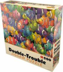 Cheatwell Double Trouble - Clownfish puzzel - 500 stukjes