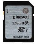 Kingston Technology GmbH Kingston Flash-Speicherkarte - 128 GB SD10VG2/128GB
