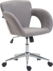 CLP Bürostuhl EDISON mit Stoff-Bezug, Bürosessel mit Wippmechanismus, stufenlose Sitzhöhenverstellung, Schreibtischstuhl mit Armlehnen,