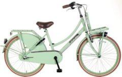 24 Zoll Popal Daily Dutch Basic+ TR24N3 Mädchen Holland Fahrrad 3 Gang Popal Pistazie