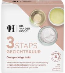 Dr Van der Hoog Dr Vd Hoog 3Staps Gezichtskuur overgevoelige huid 3 Stuks