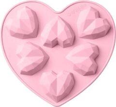 Roze Akyol Bakvorm siliconen 3d hart -siliconen 3d hart Bakvorm -tiktok bakvorm -tiktok bakken- chocolade -diamant -cake -bakvorm hart - siliconen hart zeep -Bonbons - Mold - Bakvormen - Koken - Chefkok - Bakken - Keukenaccessoires - Cadeau - Gift