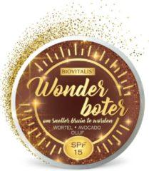 BIOVITALIS Wonderboter om sneller bruin te worden SPF15 150 ml - Tanning Butter - Tan Deepener - Zonnebrand