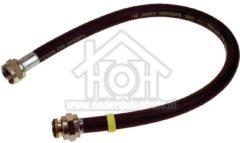 Grijze Universeeel Universeel Gasslang Rubber flexibel voor los staande apparaten Gastec 100 cm met