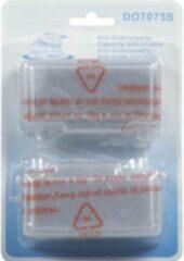 Domo antikalk cassette a 2 stuks stoomstrijkijzer anti kalk cartridge