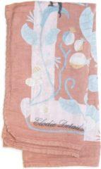 Roze Elodie Bamboe Hydrofiele doek Faded Rose Bells 80 x 80 cm