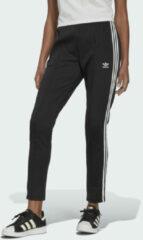 Zwarte Adidas High waist slim fit joggingbroek in gerecycled polyesterblend