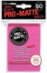 Roze Merkloos / Sans marque Speelgoed | Kaartspel - Sleeves Pro-Matte Bright Pink Small