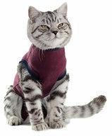 Bordeauxrode Jacketz Medical Body Suit Kat - XS