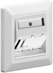 Witte Goobay Keystone inbouw wandcontactdoos voor 3 aansluitingen
