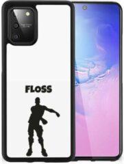 Telefoontas Samsung Galaxy S10 Lite Smartphone Hoesje met Zwarte rand Floss Fortnite