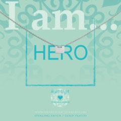 Heart to get IAM415N-HERO-S Ketting Hero zilver 40-44 cm