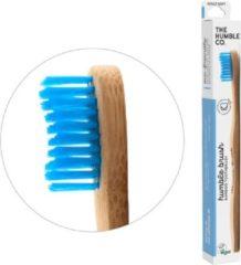 Blauwe Bamboe tandenborstels - Duurzaam - Vegan - BPA-vrij - Set van 2 stuks - Bamboo - Milieuvriendelijk - Humble Brush