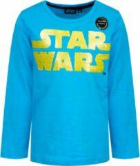Star Wars - Longsleeve - Blauw - 4 jaar - 104 cm